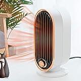 Kxlqh Petits appareils de chauffage portables, radiateur 700 W, radiateurs à air chaud avec 2 modes, mini radiateur électrique de bureau personnel pour une utilisation en intérieur de chambre de burea