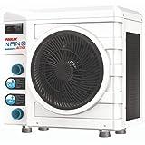 POOLEX Nano Action 3kW POOLSTAR 3kW-PC-NANO-A3-Pompe à Chaleur Dédiée aux Petites Piscines Hors-Sol-Consommation de 600 W-Volume du Bassin de 10 à 21m3, Blanc