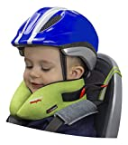 SANDINI SleepFix® Kids BIKE – Oreiller/coussin de nuque pour enfant avec équilibrage thermique – Accessoire de siège enfant à vélo et dans une remorque – Empêche la tête de basculer pendant le sommeil