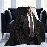 Jingliwang Couverture des Esprits criminels 3D Print Hotch Anti-Pilling Flanel Throw Couverture Aaron Hotchner pour canapé à la Maison, 60 '' x50
