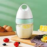 Erato Batteur à Oeufs Électrique,900ML Mini Robot Patissier Électrique, Batteur à Lait Mixeur, Mixeur de Beurre Pour crème moussante,mélangeant le blanc d'oeuf,Café,Chocolat Chaud
