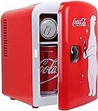 Coca Cola KWC4 Frigo électrique Mixte Adulte, Rouge