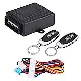 Verrouillage central de voiture, kit de commande à distance de verrouillage central de système d'entrée sans clé de serrure de voiture universelle