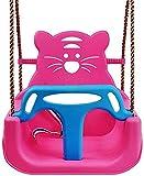 KMILE Loisirs Tree Swing Enfants Swing Intérieur Home Three-in-One Sièt bébé Baby Swing Chair bébé Jouet bébé (Color : Pink)