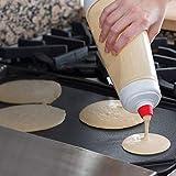 SB Home Shaker à pâte Pâte Mixeur Shaker Bottle Shaker à œufs La solution complète pour préparer crêpes, pancakes, gaufres, etc.   Le fouet BlenderBall