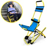 FanYu Chaise d'escalier - Chaise d'escalier d'ascenseur médical Pliable portative de civière d'escalier, Chaise d'escalier d'ascenseur médical d'évacuation de Pompier d'ambulance