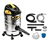 Aspirateur multifonction LAVOR KOMBO 4 EN 1 - 1200 Watt max, 18 kPa, 30 litres / seconde, réservoir 14 + 14 litres. Aspirateur, aspirateur vide cendres, aspirateur liquide, fonction de soufflage