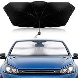 Parasol de voiture, pare-soleil, pare-soleil, pare-soleil, pare-soleil, pare-soleil, pare-soleil, pare-brise, pare-brise avant pliable (125 x 65 cm)