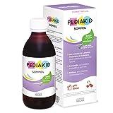 PEDIAKID - Complément Alimentaire Naturel Pediakid Sommeil - Formule Exclusive au Sirop d'Agave - Améliore la Qualité du Sommeil - Favorise l'Endormissement - Arôme Naturel Cerise - Flacon de 250 ml