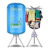 Ronde Sèche Etendoir 900W électrique portable pliant Approuvée d'économie d'énergie (Anion) rapide bébé sèche-linge Maison et Dortoir Désinfection Armoire for Voyage ( Color : Blue - Little Girl )