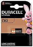 Pile lithium haute puissance Duracell CR2 3V, pack de 1 (CR15H270), conçue pour une utilisation dans les capteurs, verrous sans clé, flashs d'appareil photo et lampes de poche