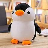 HEWE Belle Pingouin Jouets, poupée de Pingouin Animal de Bande dessinée Souple, Chaise de canapé Coussin d'oreiller, Cadeaux d'anniversaire pour Enfants (45cm)