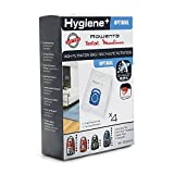 Rowenta Lot de 4 sacs Hygiène+, Compatibles avec les aspirateurs traineau Compact Power, Power XXL, Silence Force, X-Trem Power ZR200520
