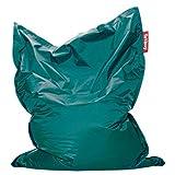 Fatboy® The Original Pouf Poire Bean Bag/Coussin/Fauteuil/canapé d'intérieur XXL   Turquoise   180 x 140 cm