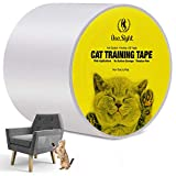 One Sight Ruban Adhésif Anti-Rayures pour Chat 10cm x 30m Double Face Transparent Ruban de Dissuation Protecteurs Anti-Griffes Chat Protection de Meubles Porte Mur Canapé Tapis Comptoirs