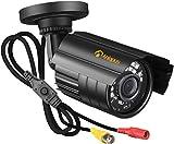 Anlapus 1080p Caméra de Surveillance pour Kit de vidéosurveillance Caméra IP67 Extérieure Vision Nocturne de 20 Mètres Objectif 3.6mm