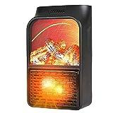 LUWEI Réchauffeur électrique Petits radiateurs, 500W Mini radiateur soufflant Spatial, Chauffage Portable en céramique avec Thermostat, dortoir à Chauffage Rapide à Usage intérieur
