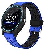 Hwhwxs Smart Montre Le Sommeil de la caméra de Surveillance Bluetooth pédomètre d'exercice, Le positionnement Bracelet Intelligent Peut Appeler la Montre Peut être insérée dans Le Dessin animé,Bleu