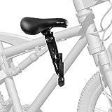 Go Top Siège de vélo avant pour enfant compatible avec tous les VTT adultes – Pour enfants de 2 à 5 ans et jusqu'à 21,8 kg