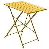 Hespéride Table extérieur Pliante Nasca Moutarde 2 p