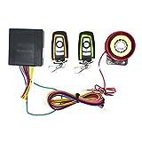QiKun-Home Système d'alarme de sécurité antivol bidirectionnel avec télécommande de démarrage du Moteur Système d'alarme Universel de Moto Multicolore