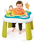 Smoby - Cotoons Youpi Baby - Table d'Eveil - Siège Déhoussable et Lavable - pour Bébé dès 6 Mois - 110224