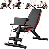 Du hui Home Gym réglable Banc de Musculation Banc d'entraînement Pliable, réglable Benchs Haltère Tabouret Chaise Romaine Sit Up Incline Abs Plat Benchs Fly Poids Presse Poids Machine Benchs Fitness