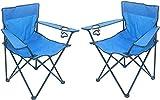 Unbekannt Sparmeile Ambientehome Chaise de Camping Bleu
