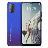 Android 11 Telephone Portable 4G, Blackview A70 (2021) Smartphone Pas Cher (Batterie 5380mAh, Écran Waterdrop 6.517' HD+, 3Go+32Go, Octa-Core, 13MP+5MP, Double Nano SIM) Face ID/Fingerprint/GPS-Bleu