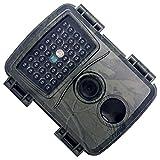 VILLCASE Trail Appareil photo étanche 1080P Jeu de chasse Appareil photo d'exploration Capteurs de vision nocturne de la machine photo pour magasin de sécurité