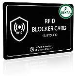 RFID Blocking Carte avec Brouilleur de Signal , RFID / NFC Protection , 1 Seule Carte pour Protéger tout votre Portefeuille et Passeport