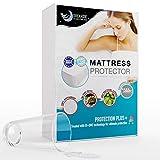 Dreamzie - Protège Matelas 140 x 190/200 cm Imperméable - Alèse Premium Oeko-TEX® Hypoallergénique, Anti-Acarien et Bactérien