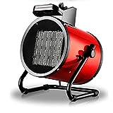 BEIAKE Industriel Fan Chaufferette D'économie D'énergie De Chauffage Puissant Basculement Chauffage Électrique pour L'atelier, Hangar D'élevage, Garage, Bureau,PTC Ceramic Heating,3kw