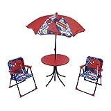 Spiderman 709463 Set de Jardin Spiderman 4 Pièces Rouge 50 x 50 x 48 cm