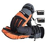 SYXX USB Warmer main rechargeable chauffage doigt sécurité température constante mâle et femelle Gants chauffage, chauffage électrique rechargeable Gants imperméables chauffage Gants écran tactile Gan
