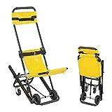 Civière de Chaise d'escalier, civière d'escalier Pliable Chaise légère d'évacuation d'escalier, escalier d'ascenseur médical d'évacuation de Pompier d'ambulance