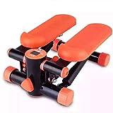 Mini Stepper Fitness Stepper Machine aérobie d'exercice de pas à pas avec des bandes de résistance pour des exercices de cardio et de tonification - 2 en 1 pas à pas d'exercice, il peut être employé p