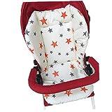 1pc poussette bébé respirant Seat Pad voiture Seat Liner Chaise haute Coussin Doublure Tapis coton coussin de couverture de protection pour bébé nourrisson (Star)