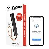 Tracker GPS Invoxia sans Carte SIM avec Alerte Antivol en Temps Réel et Longue Autonomie - Abonnement Inclus - Suivi Voiture, Moto, Scooter, Sac, Enfant, Personne Âgée, Objets de Valeur
