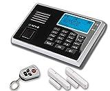 Olympia 9030 5903 GSM Système d'alarme Protect sans fil avec fonction appel d'urgence/panique/écoute/mains-libres
