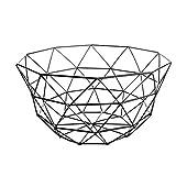 ZGF Fil de Fer métallique Fruit Basket Bol, Fer Panier Fruit Stand Panier Organisateur de Rangement en métal pour des armoires de Cuisine, Garde-Manger, Salle de Bains