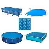 Linxor ® Bâche à bulles ronde, ovale, carrée ou rectangle 180 microns pour piscine intex ou autre. / 29 tailles diponibles