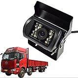 CoCar DC 12V 24V aide au stationnement pour poids lourd Caméra de recul pour Caravane Surveillance vidéo pour voiture bus véhicule Pickup –lourde tâche, étanche, IR Vision Nocturne