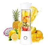 Fitsund Mini Blender, Mixeur Portable,Blender Rechargeable USB Pour Smoothie, Milk-shake,Jus de fruits et Légumes, 6 lames