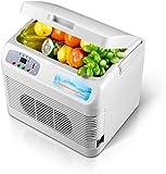 CCAN Nouveau Camping réfrigérateur Refroidisseur de Voiture électrique glacière thermoélectrique à Faible Bruit pour Voiture/Maison 24 V/12 V/220-240 V Happy Life