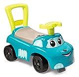 Smoby - Porteur Auto Bleu - Fonction Trotteur - Pour Enfant Dès 10 Mois - Coffre à Jouets - 720525