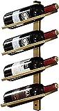 Grille de vin Organiser la Cuisine vin de vin en métal monté en métal monté en métal Vertical Grille de Rangement de vin de 4/6/8 Bouteilles à vin Bouteille de Bouteille de Bouteille de Bouteille
