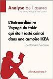 L'Extraordinaire Voyage du fakir qui était resté coincé dans une armoire IKEA de Romain Puértolas (Analyse de l'oeuvre): Comprendre la littérature avec lePetitLittéraire.fr (Fiche de lecture)