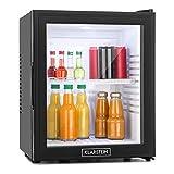 Klarstein MKS-13 - Minibar,32 litres,Silencieux OdB,Température réglable,Porte verre, Classe A,noir