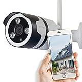 Avidsen - Camera - Webcam, Connexion par Wi-fi sans fil, Instalation facil 'Plug & Play', Camera à résolution Full Hd, compatible IOS & Android - 123981